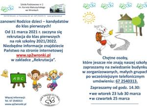 Pokaz realizacji zadań innowacji pedagogicznej w 2a